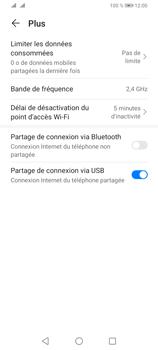 Huawei Y6P - Internet et connexion - Utiliser le mode modem par USB - Étape 9