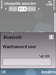 Nokia E75 - bluetooth - headset, carkit verbinding - stap 9
