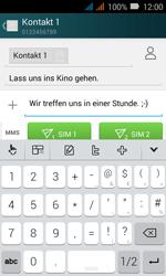 Huawei Y3 - MMS - Erstellen und senden - 0 / 0