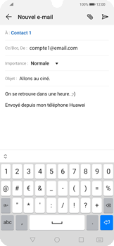Huawei P Smart 2020 - E-mails - Envoyer un e-mail - Étape 9