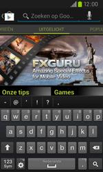 Samsung I9105P Galaxy S II Plus - apps - app store gebruiken - stap 11