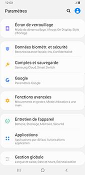 Samsung Galaxy S9 Plus - Android Pie - Prise en main - Comment activer un code SIM - Étape 4