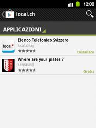 Samsung Galaxy Y - Applicazioni - Installazione delle applicazioni - Fase 6