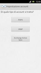 Sony Xperia U - E-mail - Configurazione manuale - Fase 6