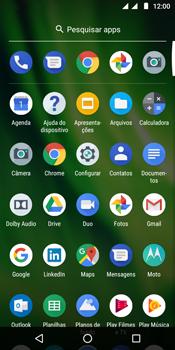 Motorola Moto G6 Play - Wi-Fi - Como configurar uma rede wi fi - Etapa 3