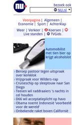 Siemens MC60 - Internet - Populaire sites - Stap 1