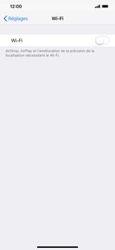 Apple iPhone XS Max - WiFi - Configuration du WiFi - Étape 4