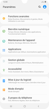 Samsung Galaxy A70 - Logiciels - Installation de mises à jour - Étape 4