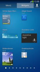 Samsung Galaxy S 4 Mini LTE - Startanleitung - Installieren von Widgets und Apps auf der Startseite - Schritt 7