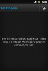 Sony ST27i Xperia Go - MMS - envoi d'images - Étape 3