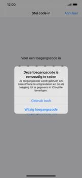 Apple iPhone 11 - Beveiliging - stel in of wijzig pincode voor je toestel - Stap 6