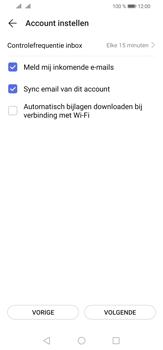 Huawei P30 Lite - E-mail - e-mail instellen (yahoo) - Stap 8