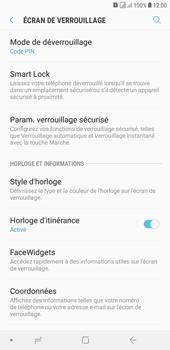 Samsung Galaxy J4+ - Sécuriser votre mobile - Activer le code de verrouillage - Étape 12
