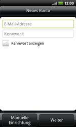 HTC A7272 Desire Z - E-Mail - Konto einrichten - Schritt 6