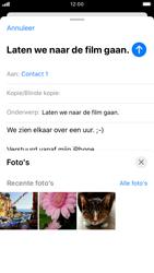 Apple iPhone SE (2020) (Model A2296) - E-mail - Hoe te versturen - Stap 11