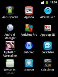 Alcatel OT-903 - Internet - hoe te internetten - Stap 2
