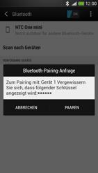 HTC One Mini - Bluetooth - Geräte koppeln - 0 / 0