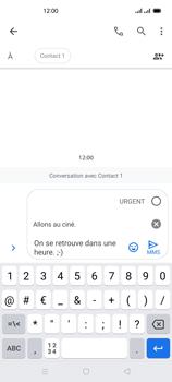 Oppo Reno 4Z - Contact, Appels, SMS/MMS - Envoyer un MMS - Étape 13