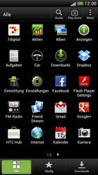 HTC One S - Apps - Einrichten des App Stores - Schritt 3