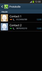 Samsung Galaxy Core Plus - Anrufe - Anrufe blockieren - 1 / 1