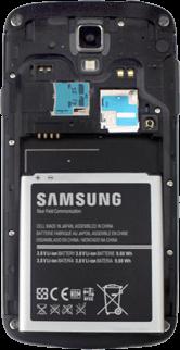 Samsung I9295 Galaxy S4 Active - SIM-Karte - Einlegen - Schritt 8