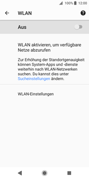 Sony Xperia XZ2 - WLAN - Manuelle Konfiguration - Schritt 6