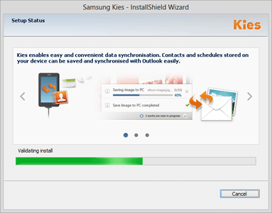 Samsung Galaxy A70 - Software - Installing PC synchronisation software - Step 6