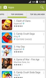 Samsung J100H Galaxy J1 - Applications - Download apps - Step 11