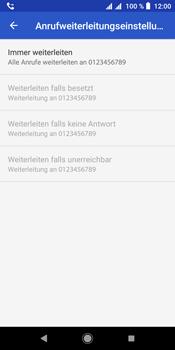 Sony Xperia L3 - Anrufe - Rufumleitungen setzen und löschen - Schritt 11