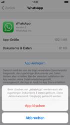 Apple iPhone 6 - iOS 11 - Apps - Eine App deinstallieren - Schritt 8