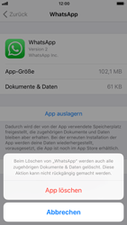 Apple iPhone 6s - Apps - Apps deinstallieren - 1 / 1
