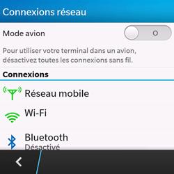 BlackBerry Q10 - Bluetooth - connexion Bluetooth - Étape 7