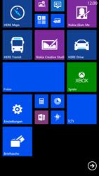 Nokia Lumia 1320 - Startanleitung - Personalisieren der Startseite - Schritt 5