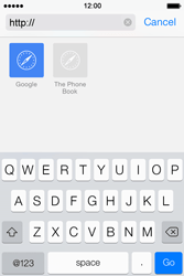 Apple iPhone 4 S iOS 7 - Internet - Internet browsing - Step 16