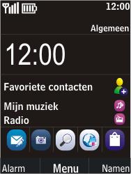 Nokia C2-05 - MMS - Handmatig instellen - Stap 1