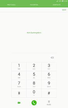 Samsung Galaxy Tab A 10-1 - Anrufe - Rufumleitungen setzen und löschen - Schritt 4