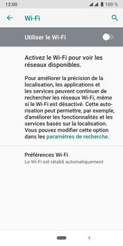 Crosscall Core X4 - Internet et connexion - Accéder au réseau Wi-Fi - Étape 6