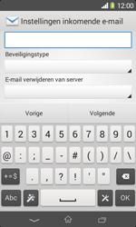 Sony D2005 Xperia E1 - E-mail - handmatig instellen - Stap 10