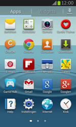 Samsung S7710 Galaxy Xcover 2 - Buitenland - Bellen, sms en internet - Stap 4