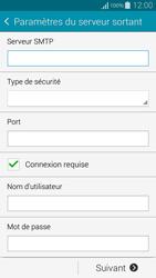 Samsung G850F Galaxy Alpha - E-mail - Configuration manuelle - Étape 13