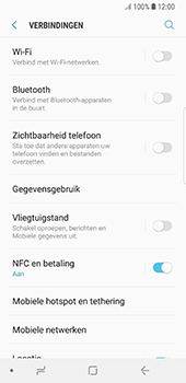 Samsung Galaxy S8 - Android Oreo - Bellen - in het buitenland - Stap 5