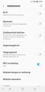 Samsung Galaxy S8 - Oreo - netwerk en bereik - gebruik in binnen- en buitenland - stap 5