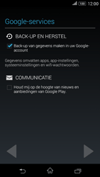 Sony Xperia E4g (E2003) - Applicaties - Account aanmaken - Stap 12