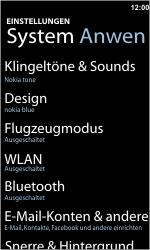Nokia Lumia 800 - WLAN - Manuelle Konfiguration - 0 / 0