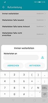 Huawei Honor Play - Anrufe - Rufumleitungen setzen und löschen - 7 / 9
