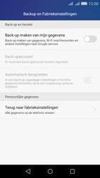 Huawei Y6 - Toestel reset - terugzetten naar fabrieksinstellingen - Stap 4