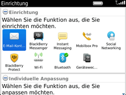 BlackBerry Bold Touch - E-Mail - Konto einrichten - 0 / 0
