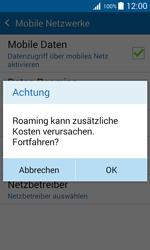 Samsung Galaxy J1 - Ausland - Im Ausland surfen – Datenroaming - 9 / 12