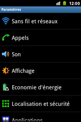 Samsung S7500 Galaxy Ace Plus - Messagerie vocale - Configuration manuelle - Étape 4