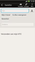 HTC S728e One X Plus - E-mail - E-mail versturen - Stap 7